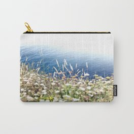 Flowers by the cliff Carry-All Pouch