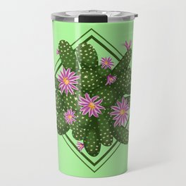Blooming cactus Travel Mug