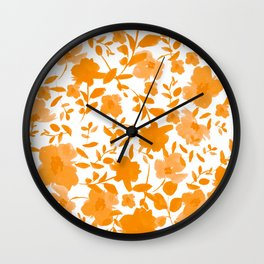 Spring Clusters Wall Clock