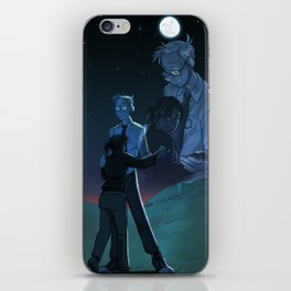 Portal Blue Sky: Like Real People Do iPhone Skin