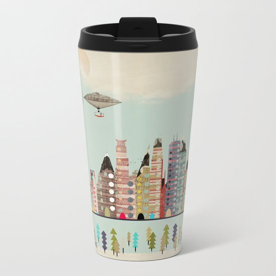 visit minneapolis minnesota Metal Travel Mug