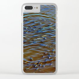 School Of Fish Clear iPhone Case