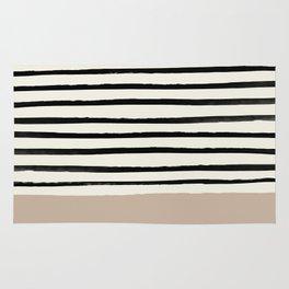 Latte & Stripes Rug