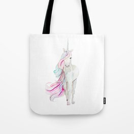 Watercolor Unicorn Tote Bag