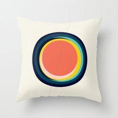 Future Globes 003 — Matthew Korbel-Bowers Throw Pillow