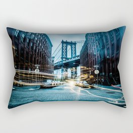Brooklyn Bridge 2 Rectangular Pillow