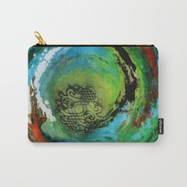 Maelstrom, captivating abstract painting Carry-All Pouch