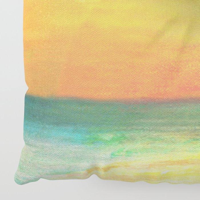 Summer Sunset Floor Pillow