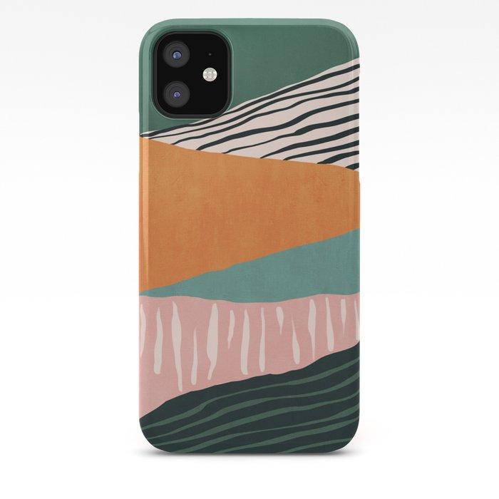 Modern irregular Stripes 02 iPhone Case