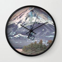 The Kawaguchi Trail Wall Clock