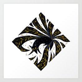 Nine Tails Art Print