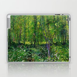 Vincent Van Gogh Trees and Undergrowth 1887 Laptop & iPad Skin