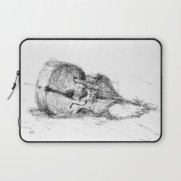 Contrabass resting Laptop Sleeve