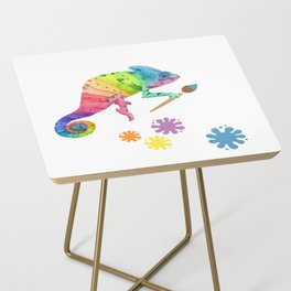 Artist Chameleon Side Table