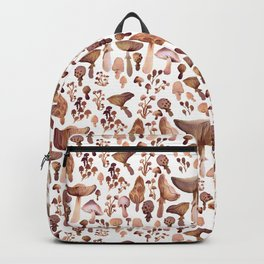 Watercolor Mushrooms Backpack