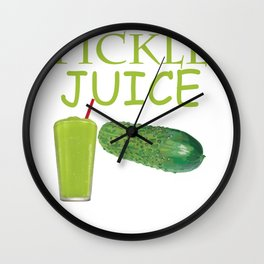 Dill Pickle Juice  Product Wall Clock