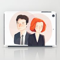 mulder iPad Cases featuring Always Seek The Truth by Nan Lawson