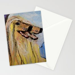 Afghan Hounds Stationery Cards