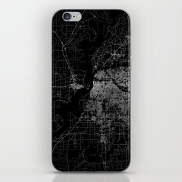 Memphis map iPhone Skin