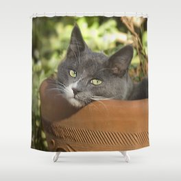 Here's Looking at YOU, Kid! Shower Curtain