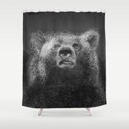 Sacred Bear Shower Curtain
