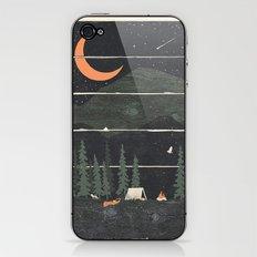 Wish I Was Camping... iPhone & iPod Skin