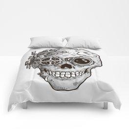 Steampunk Skull Comforters