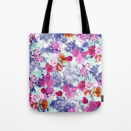 Floral Rococo Tote Bag