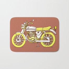 Vintage Motorcycle Gems III Bath Mat