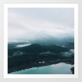 From High Above  Art Print