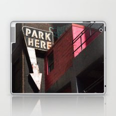park here Laptop & iPad Skin