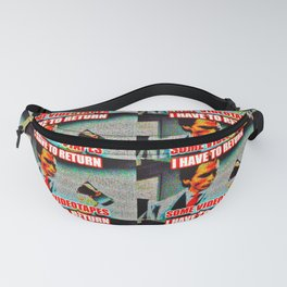 Return Those Videotapes Fanny Pack