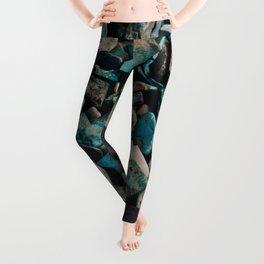 Turquoise & Teal Leggings