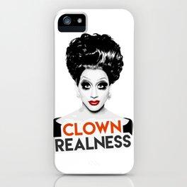 """Clown Realness"" Bianca Del Rio, RuPaul's Drag Race Queen iPhone Case"