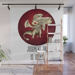 Judgment Dragon inspired card Wall Mural