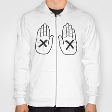 Hands White Hoody