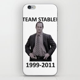 Team Stabler iPhone Skin