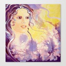 Thistledown Fairy Canvas Print