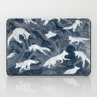 spiritual iPad Cases featuring GHOSTS  by Sandra Dieckmann