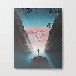Sea Of Dreams Artpiece Metal Print