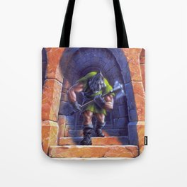 A Night in Terror Tower Tote Bag