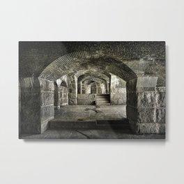 Casemate Carriage Metal Print