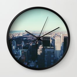 Take me back to the city Wall Clock