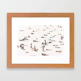 BONDI BEACH BUMS Framed Art Print