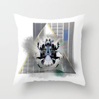 egypt Throw Pillows featuring egypt by Gabriele Omar Lakhal