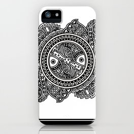 Design inspired from Mithila Painting iPhone Case