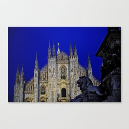 The Lion and Duomo Canvas Print