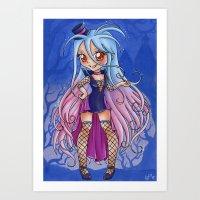Vampire Shiro Art Print