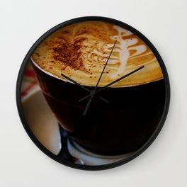 Loving My Latte Wall Clock