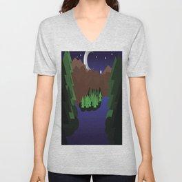 Night Chills Unisex V-Neck